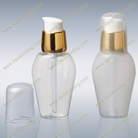 40ml PET bottle with 18mm gold plated treatment pump