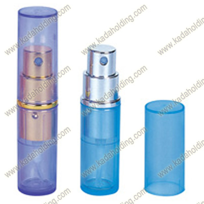10ml transparent PP atomizers for perfume and sanitizer