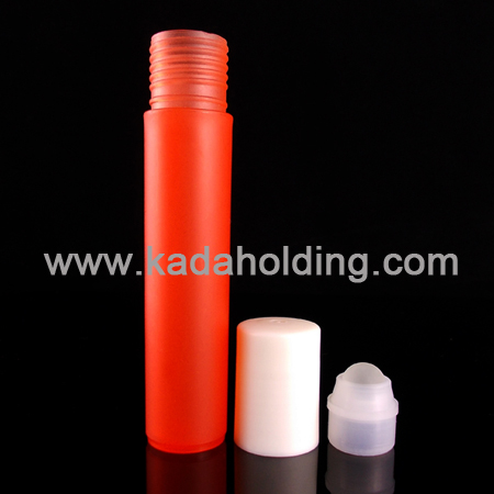 plastic roll on bottle 12ml,color customized