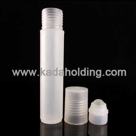 12ml cylinder roll on bottle in PP plastic