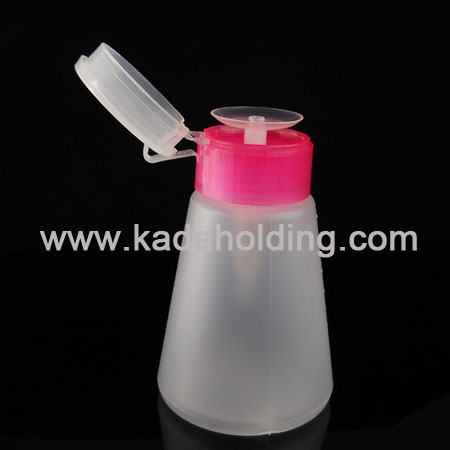 180ml nail pump bottle(nail polish remover)