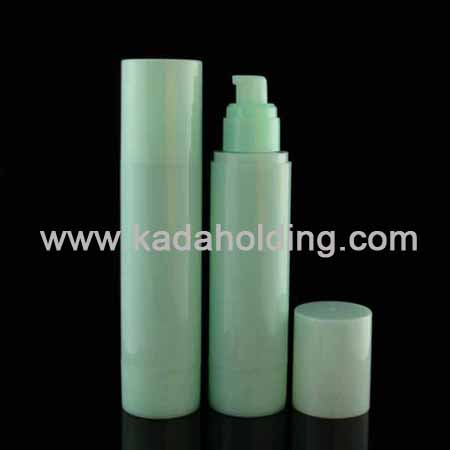 Plastic airless bottle for cosmetics 100ml