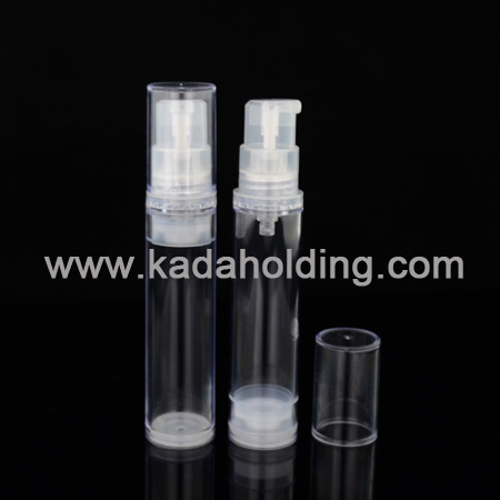 10ml plastic airless bottle for cosmetics