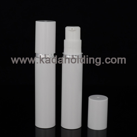 10ml plastic airless bottle for cosmetic tester