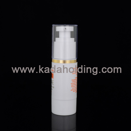 Airless bottles from 15ml to 100ml