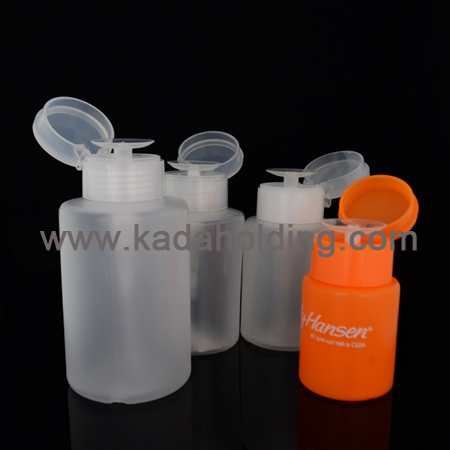 remover bottles for cosmetics