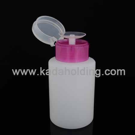 170ml PP plastic cosmetics remover bottle